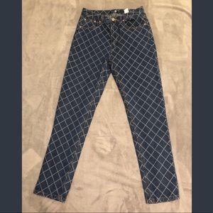 Boohoo pattern jeans